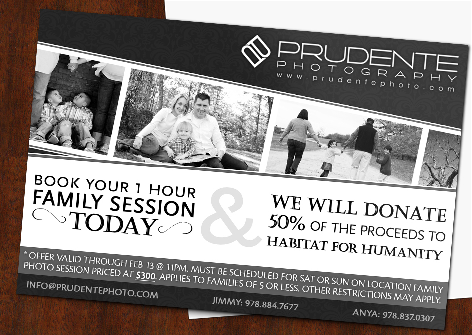 Family photography offer from prudente photography