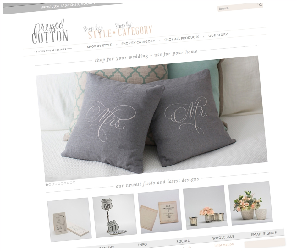 Wedding planning tools, cool website with great styled details