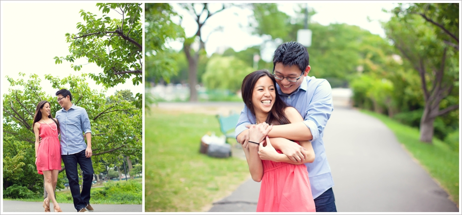 Cute engagement photography boston