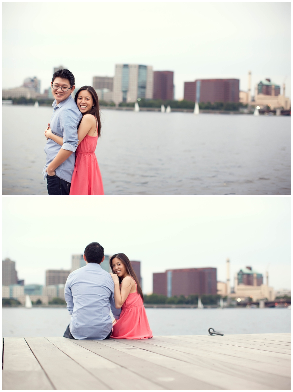 Waterview engagement photography boston