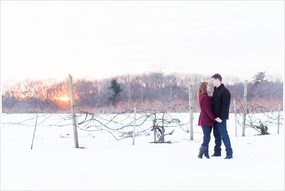Winter wedding photographers in Boston