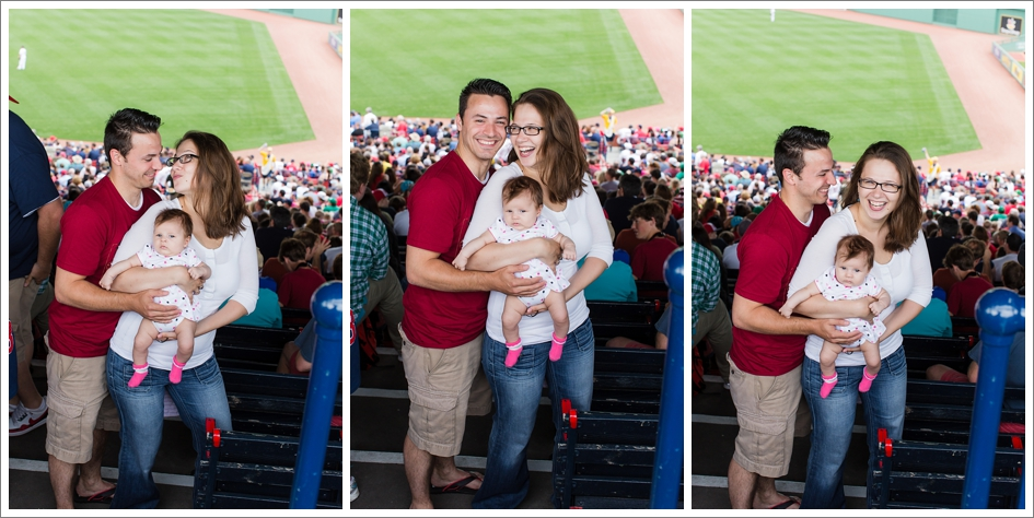 Baby's first red sox game