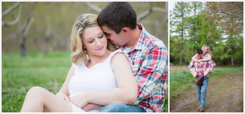 Brooksby Farm Engagement Photos