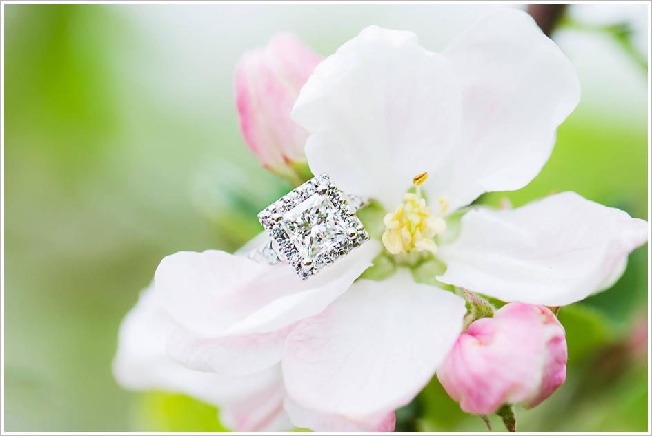 Sharp Wedding Ring Photo