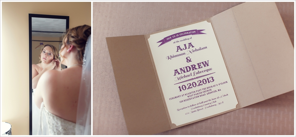 Wedding Invitation Photography Boston, MA