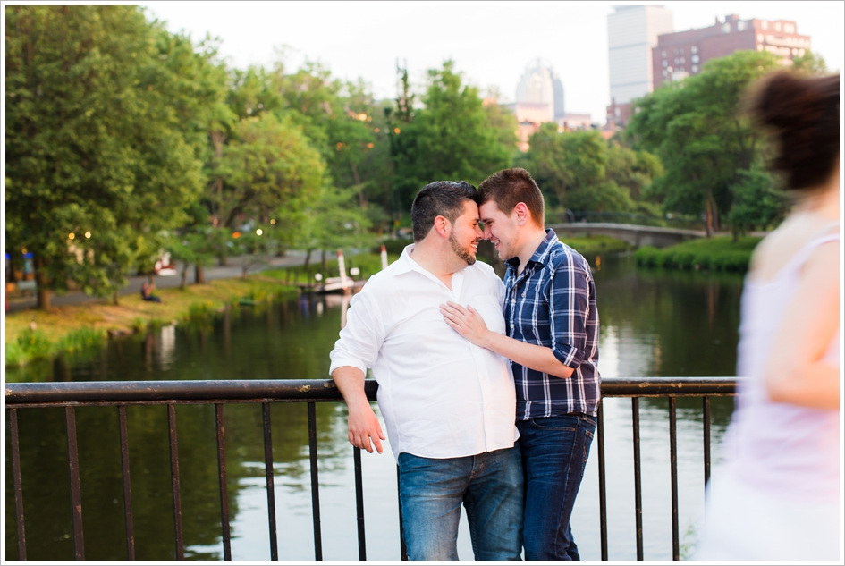 Gay Engagement Photography Boston, MA