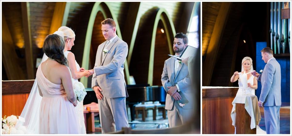 Assumption College Chapel Candle Lighting Worcester, MA Beechwood Hotel Wedding Photography