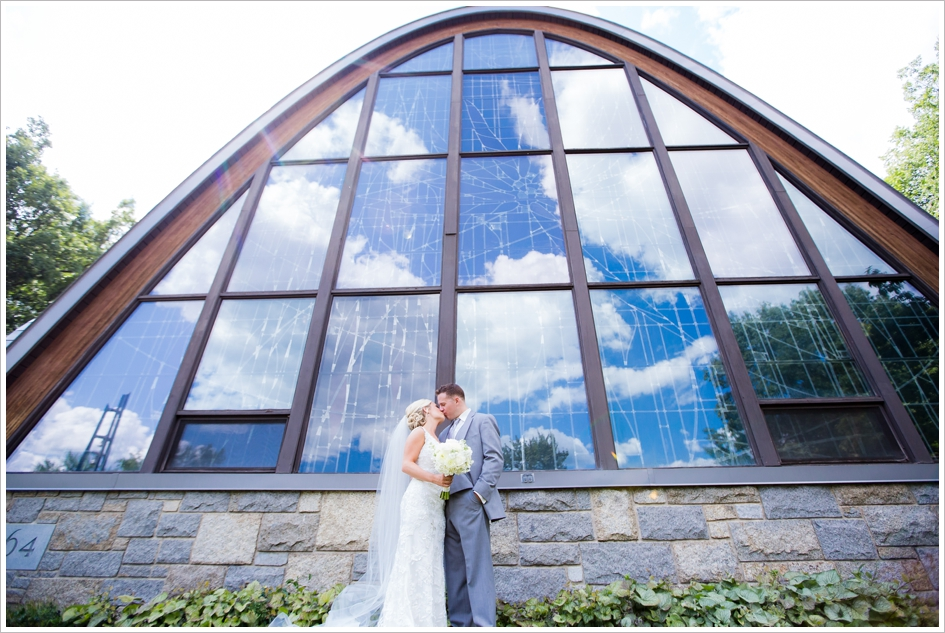 Assumption College Chapel Wedding Photography Worcester, MA