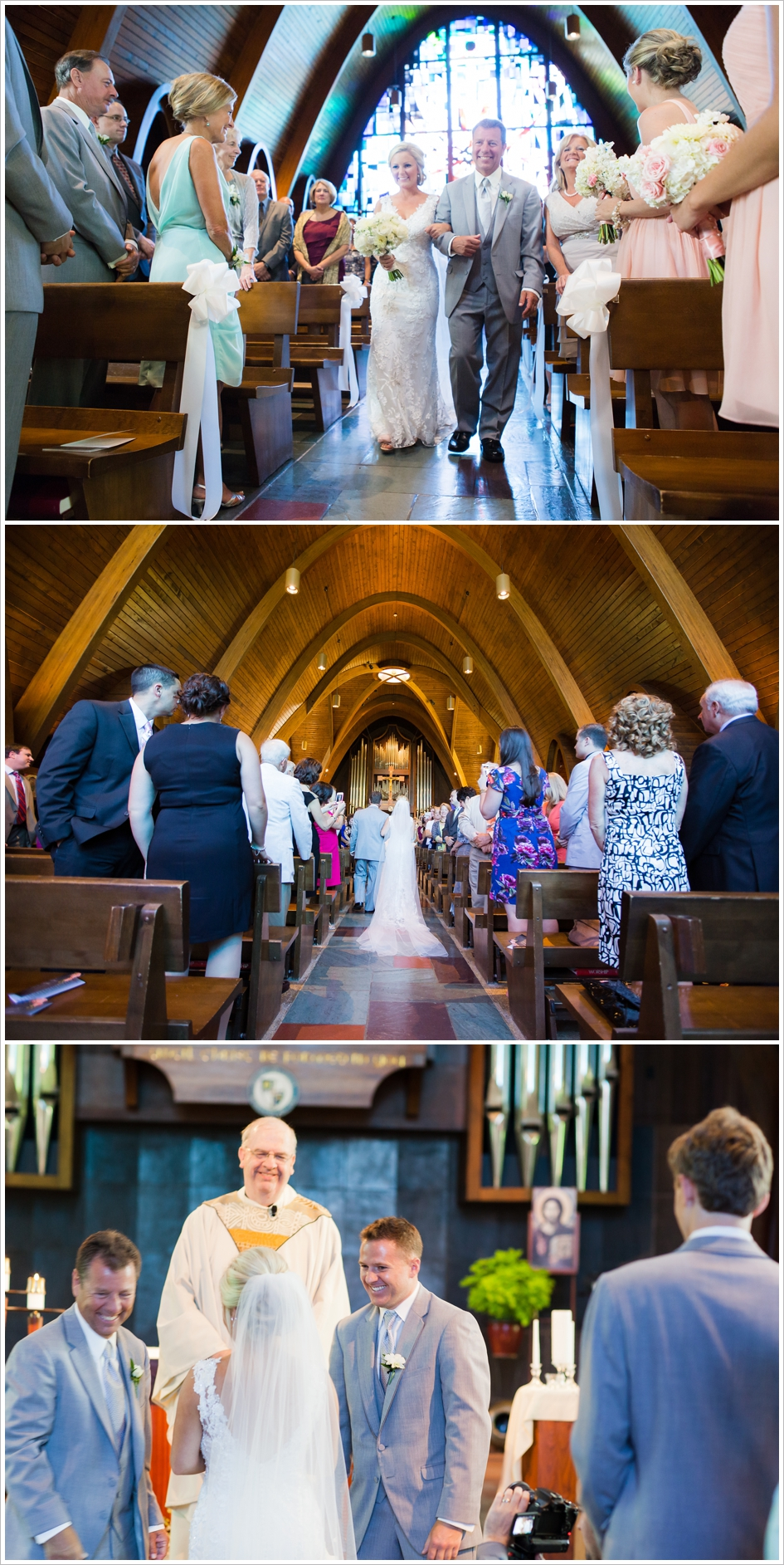 Assumption College Chapel Worcester, MA Wedding Photography