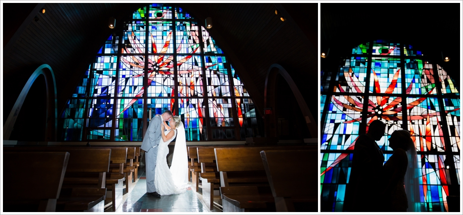 Bride Groom Portrait Wedding Assumption College Chapel Worcester, MA Photography