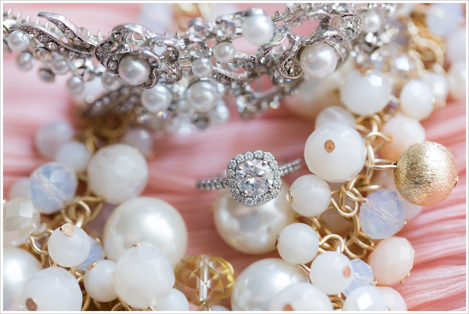 Bride Jewelry Preparation Wedding Engagement Ring Photography
