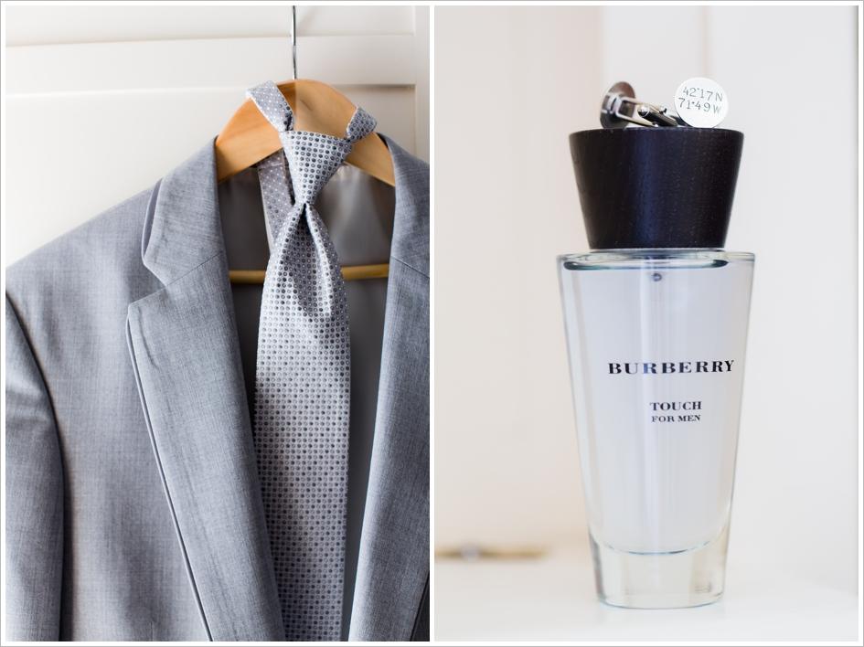 Groom Preparation Detail Suit Tie Cufflinks Wedding Photography Beechwood Hotel Worcester, MA