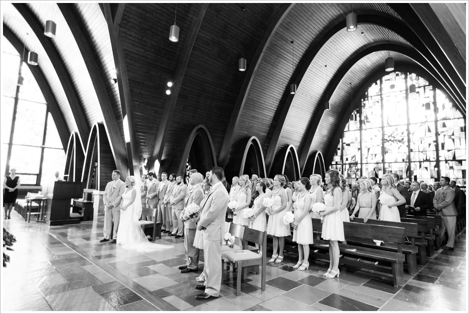 Wedding Photos Assumption College Chapel Worcester, MA